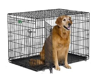 NEW MidWest iCrate Folding Metal Double Door Dog Crate