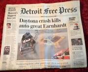 Dale Earnhardt Newspaper