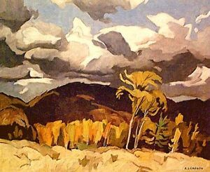 "A.J. Casson ""October Storm Clouds"" Lithograph appraised at $575"