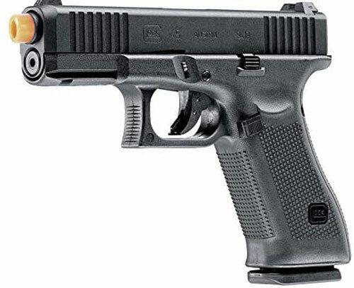 Elite Force Umarex Glock 45 Gen 5 GBB Green Gas 6mm Airsoft Pistol Black NEW