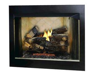 fmi 36 bavarian paneled vent free fireplace insert w