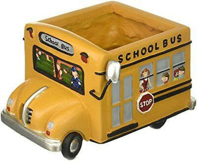 Adorable School Bus Planter Great Gift For Teachers School Bus DriversHome - School Supplies For Teachers