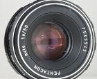 Pentacon Fixed/Prime Camera Lenses 50mm Focal