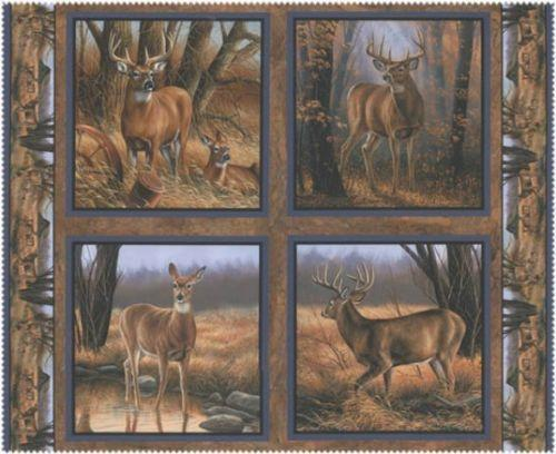 Wildlife Fabric Ebay