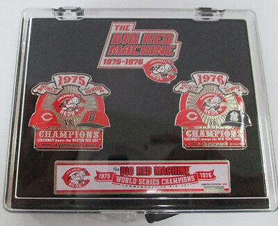 CINCINNATI REDS BIG RED MACHINE LIMITED EDITION PIN  SET 1975 1976 WORLD (1975 Big Red Machine)