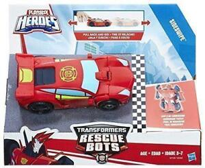TRANSFORMERS - RESCUE BOTS - PULL BACK AND GO AT TEDDY N ME