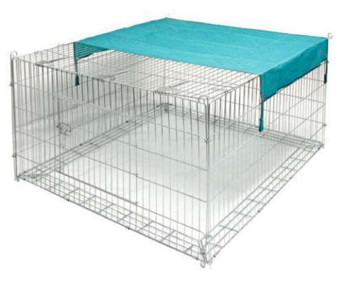 kaninchen freilauf k fige auslauf gehege ebay. Black Bedroom Furniture Sets. Home Design Ideas