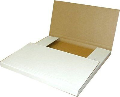100 Lp Record Perforated Cardboard Multi-depth Box Mailers 12.5 Inch X 12.5 Inch