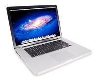 MacBook Pro (15-inch, Late 2011) 16GB RAM 256 SSD
