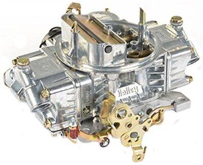 Holley Remanufactured Carburetor - Holley Remanufactured Carburetor # 80508-S Shiny finish 750 CFM Electric Choke