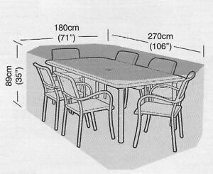 black garden furniture covers. Rectangular Garden Furniture Covers Black
