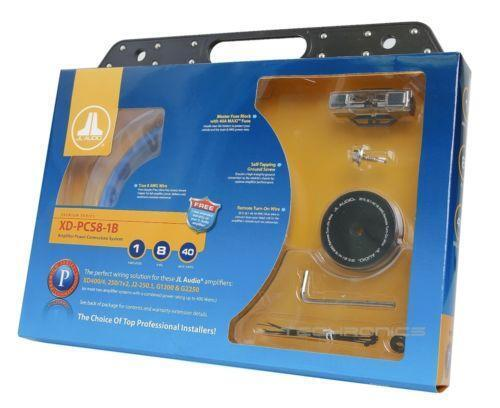 Jl Audio Wiring Kit