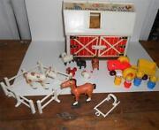 Vintage Fisher Price Little People Barn
