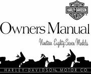 Sportster Owners Manual