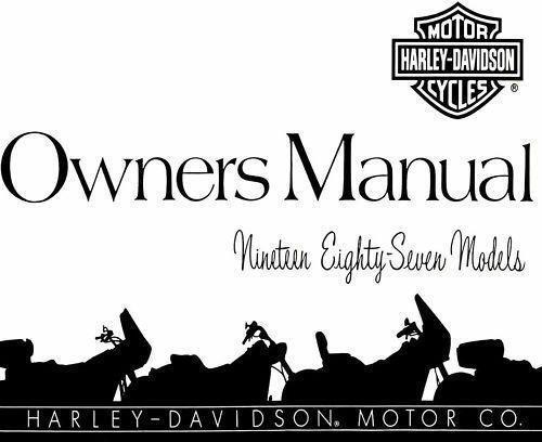 Harley sportster manual ebay sportster owners manual fandeluxe Images