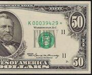 50 Dollar Star Note