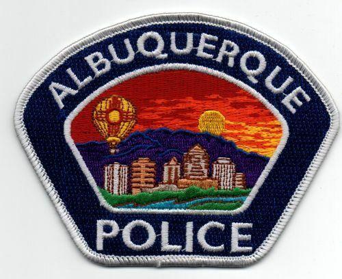 NEW MEXICO NM ALBUQUERQUE POLICE NICE PATCH SHERIFF BLACK