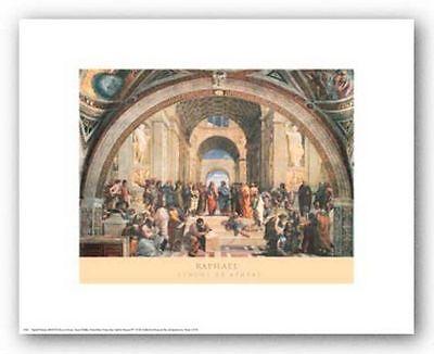MUSEUM ART PRINT School of Athens Raphael Raffaello