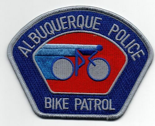 NEW MEXICO NM ALBUQUERQUE POLICE BIKE PATROL NICE PATCH SHERIFF