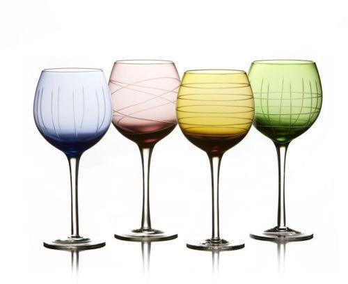 Coloured Plastic Wine Glasses