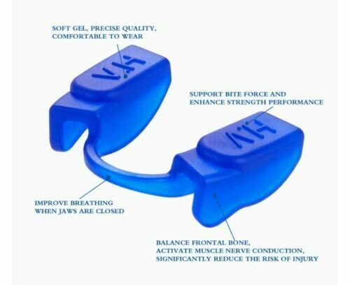 3 pack A+ Professional Powerlifting Mouth guard With Storage Case see colors
