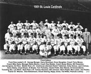 St Louis Cardinals Team Photo