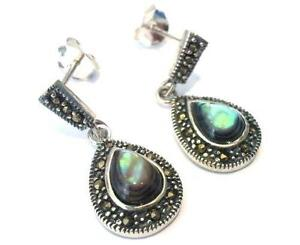 Vintage 925 Silver Earrings