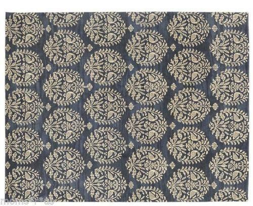 Pottery barn medallion rug ebay for Pottery barn carpet runners