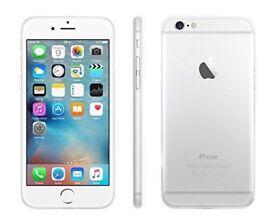 iPhone 6S 64GB Unlocked Silver!