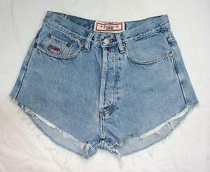 High Waisted Denim Shorts | eBay