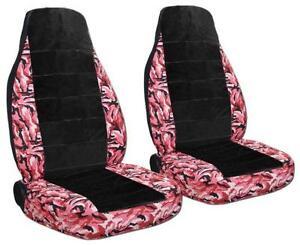 Pink Camo Car Seat