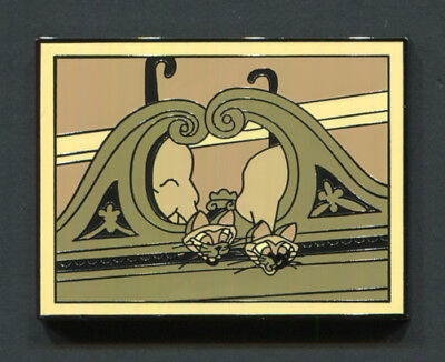 "Disney Pin ""SI & AM"" Chaser 2017 Disney Films Mystery - Lady & The Tramp"