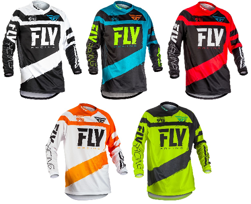 2018 Fly Racing F-16 Adult,Kids,Youth Riding Jersey Shirt Motocross Mx Bmx Atv