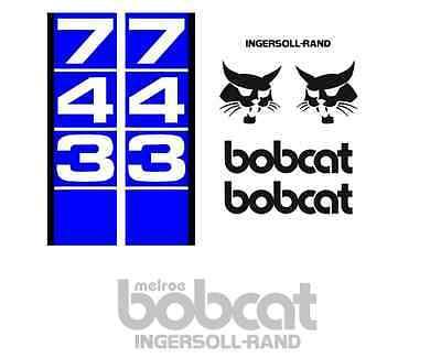 Bobcat 743 New Full Decals Sticker Kit A1 Graphics