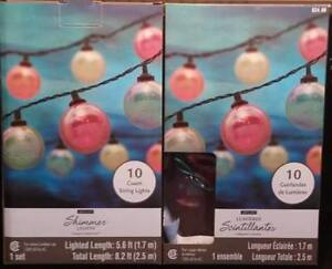 New in boxes Shimmer string lights