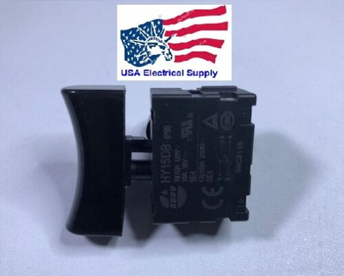 KEDU HY15DB 18(15)A 127V Lock Off Trigger Pushbutton Switches for Mower Saw