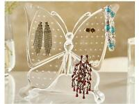 Butterfly earring storage