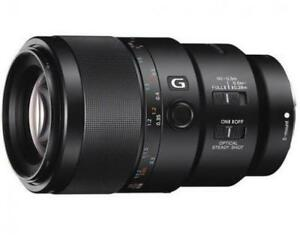 Sony 90mm F2.8 OSS G MACRO lens new