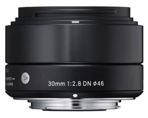 Objectif Sigma 30mm f/2.8 DN pour Micro 4/3