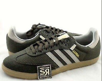 bac6adcc0 RARE Vtg. ADIDAS HEMP SAMBA Turf INDOOR SOCCER SHOES Trainers SNEAKERS Mens  sz 5