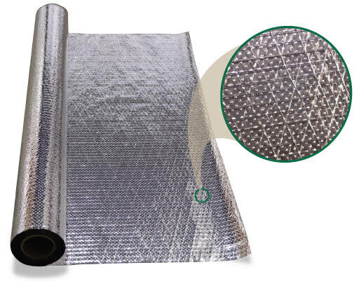 1000 sqft Diamond Radiant Barrier Solar Attic Foil Reflective Insulation 2x500