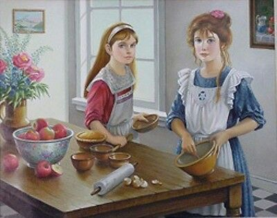 PUDDINGS AND PIES  - PATI BANNISTER - LTD ED Print