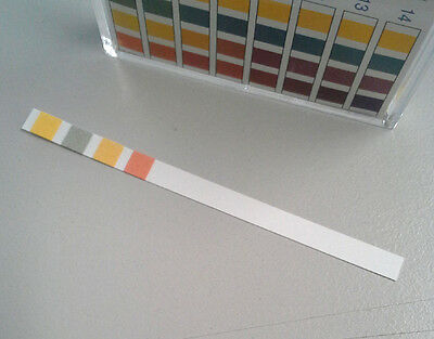 Ph Indicator Strips 100 Strips Special Range 7-14
