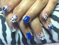 Gel nails!! *•$10 off a set for the month of October•*