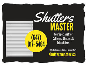Blinds &Shutters Easter Special sale