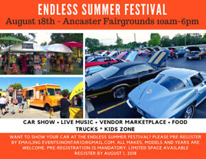 Ancaster Endless summer Festival and Cruise Night/Car Show