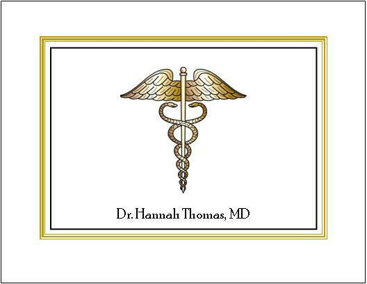 Medical DR or RN Note or Thank You Cards Style #3