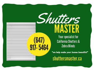 Blind and Shutters Special sale