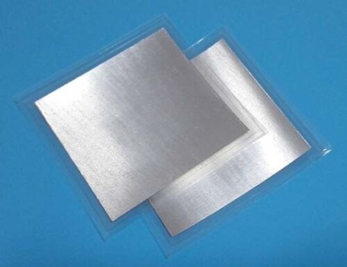 Indium Foil Cooling Thermal Pad Alternative to Thermal Paste/Grease 40*40mm