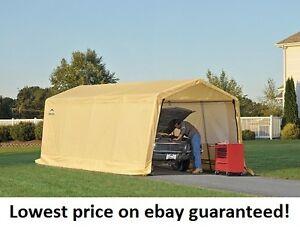 ShelterLogic-10x20x8-Storage-Auto-Shelter-Portable-Garage ...